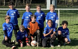 U11-2 COUPE à CHEVILLY